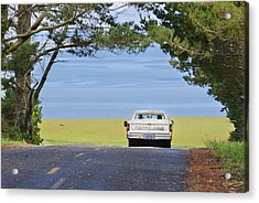 Acrylic Print featuring the photograph Sunday Drive by Jon Exley