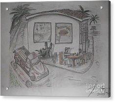 Sunday Drive Thru Acrylic Print by James Eye
