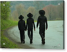 Sunday Go To Meetin' Acrylic Print by Skip Tribby