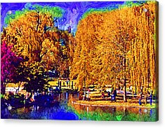 Sunday In The Park Acrylic Print by Kirt Tisdale