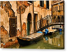 Sunday In Venice Acrylic Print