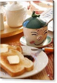 Sunday Morning Jelly Jar Acrylic Print by Peter Tellone