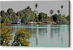 Sunday On The Delta Acrylic Print by Joseph Coulombe