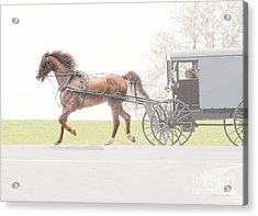 Acrylic Print featuring the photograph Sunday Ride by Dyle   Warren