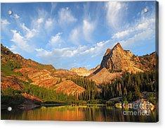 Sundial Peak Acrylic Print