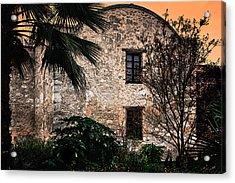 Sundown At The Alamo Acrylic Print by Gerlinde Keating - Galleria GK Keating Associates Inc