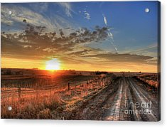 Sundown Acrylic Print