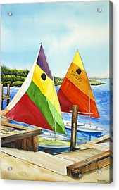 Sunfish Escape Acrylic Print