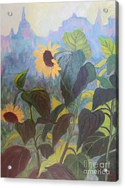 Sunflower City 1 Acrylic Print