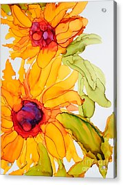 Sunflower Duo Acrylic Print