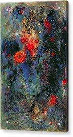 Sunflower Acrylic Print by Jane Deakin
