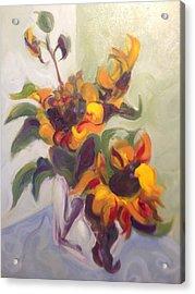 Sunflower Pirouette Acrylic Print
