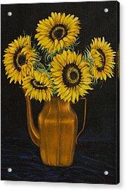 Sunflower Tea Acrylic Print