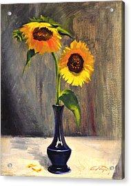 Sunflowers - Adoration Acrylic Print