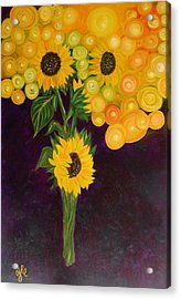 Sunflower's Dream Acrylic Print