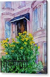 Sunflowers On 9th Street Acrylic Print