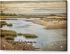 Sunken Meadow Acrylic Print