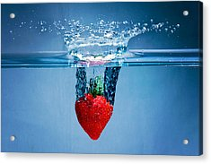 Sunken Strawberry Acrylic Print