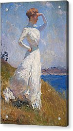 Sunlight Frank Weston Benson 1909 Acrylic Print by Movie Poster Prints