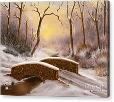 Sunlight In Winter Acrylic Print by Sena Wilson