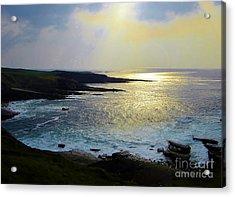 Sunlight On The Bay Acrylic Print