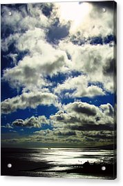 Sunlight Through The Clouds Acrylic Print