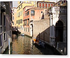 Acrylic Print featuring the photograph Venice Sunny Afternoon by Walter Fahmy