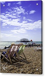 Sunny Brighton Acrylic Print