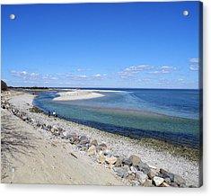 Sunny Day Beachside Acrylic Print by Lynda Lehmann