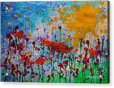 Sunny Day Acrylic Print by Jacqueline Athmann