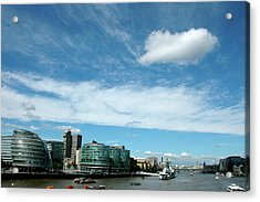 Sunny Day London Acrylic Print by Jonah  Anderson