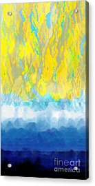 Acrylic Print featuring the digital art Sunny Day Waters by Darla Wood