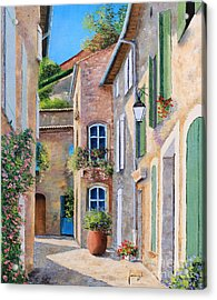 Sunny Lane Acrylic Print by Jean-Marc Janiaczyk