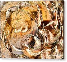 Sunny Luminance  Acrylic Print by Leona Arsenault