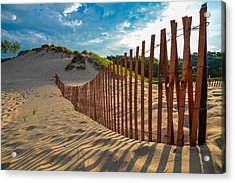Sunny Morning On The Dunes Acrylic Print