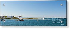 Sunny Nantucket Afternoon Acrylic Print by Michelle Wiarda