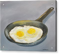 Sunny Side Acrylic Print by Ken Ahlering