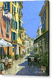 Sunny Side Of The Street 30 X 40 - Sold Acrylic Print