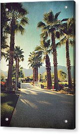 Sunny Warm Happy Acrylic Print by Laurie Search
