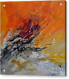 Sunrise - Abstract Acrylic Print by Ismeta Gruenwald