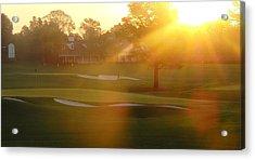 Sunrise At Augusta National Acrylic Print by Bo  Watson