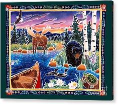 Sunrise At Bear Lake Acrylic Print