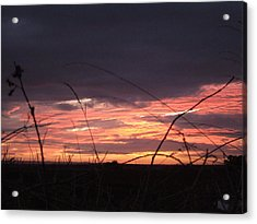Sunrise At Boroughbridge Acrylic Print