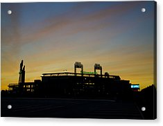Sunrise At Citizens Bank Park Acrylic Print