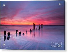 Sunrise At Deal Nj Acrylic Print