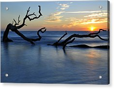 Sunrise At Driftwood Beach 7.3 Acrylic Print