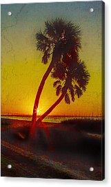 Sunrise At Fort De Soto Acrylic Print