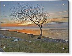 Sunrise At Fort Phoenix Acrylic Print