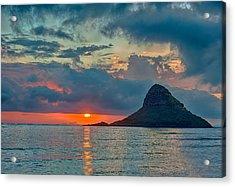 Sunrise At Kualoa Park Acrylic Print