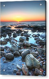 Sunrise At Low Tide Acrylic Print